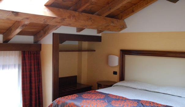 Camera letto Hotel Cascina Marisa